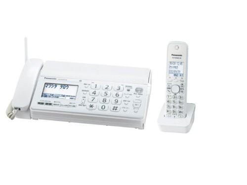パナソニック デジタルコードレスFAX 子機1台付き...