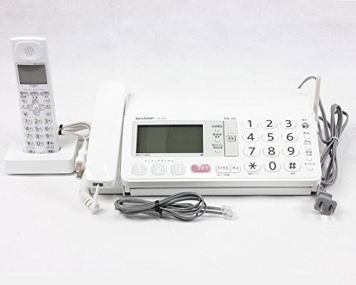 シャープ デジタルコードレスFAX 子機1台付き 1.9...