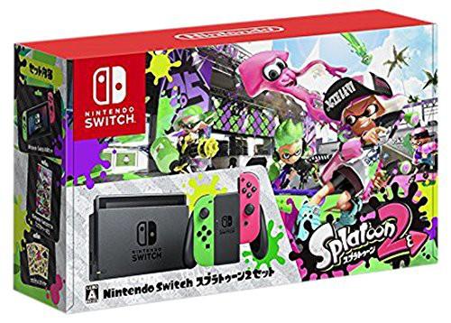 Nintendo Switch スプラトゥーン2セット(中古品)