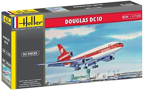 エレール 1/125 旅客機ダグラス DC10 プラモデル ...