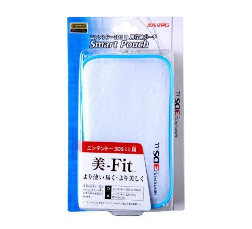 3DSLL スマートポーチ ホワイト(未使用品)