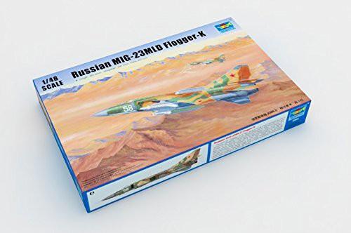 トランペッター 1/48 MiG-23MLD フロッガーK型 プ...