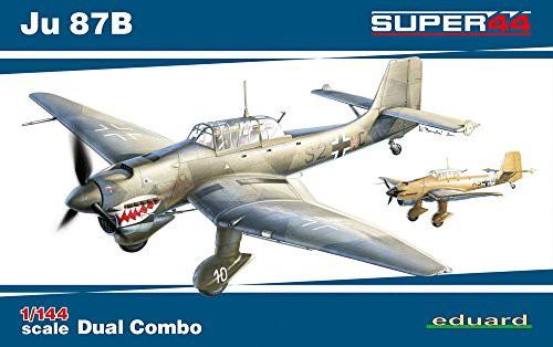 エデュアルド 1/144 Ju 87B スツーカ デュアルコ...