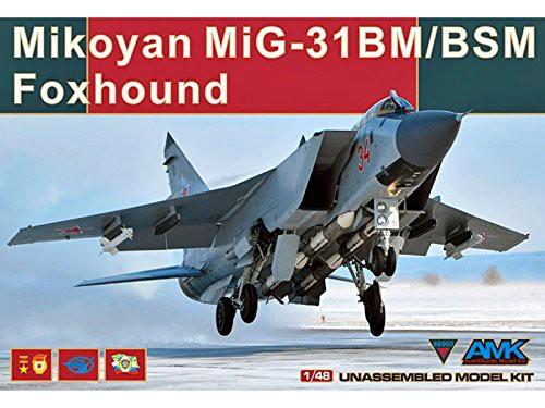 1/48 ミコヤーン MiG-31BM/BSM フォックスハウン...