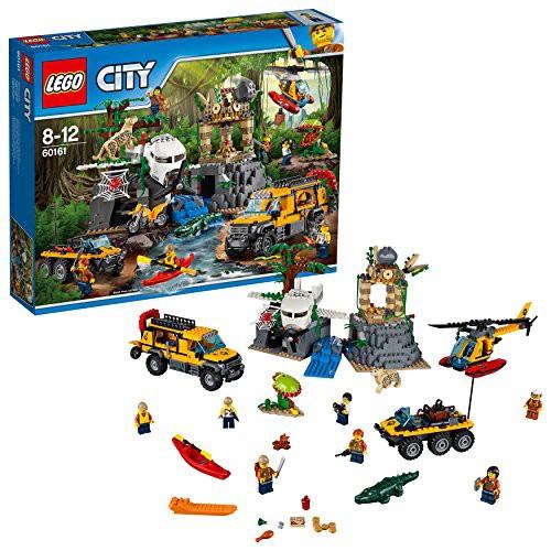 レゴ(LEGO)シティ ジャングル探検隊 60161(未使...
