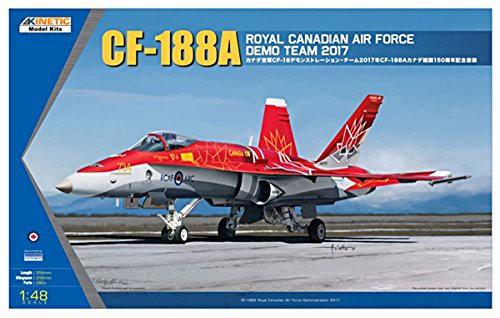 キネティック 1/48 カナダ空軍 CF-188A デモンス...
