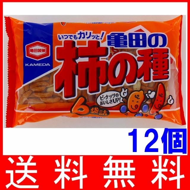 亀田 亀田の柿の種6袋詰 200g×12個 【...