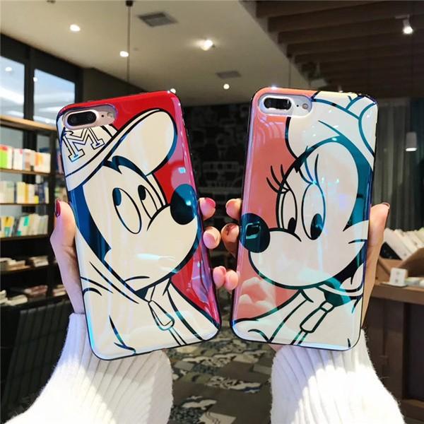 iphoneケース カップルケース ディズニー ミッキ...