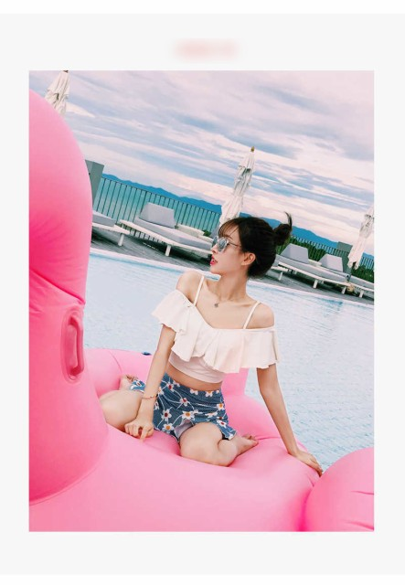夏満載のデザイン 水着 ビキニ 体型隠し ビーチ ...