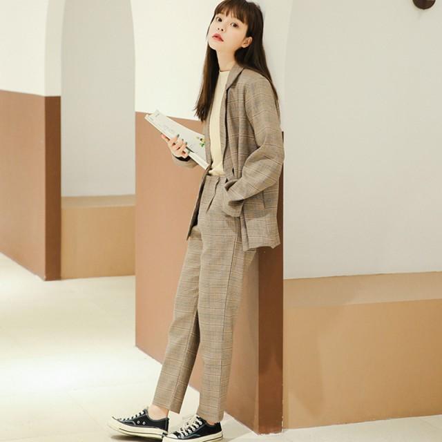 セットアップ レディース 春 韓国 ファッション ...