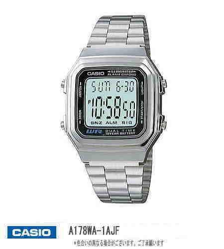 [送料無料・前払限定]正規品・カシオ腕時計 A-178...