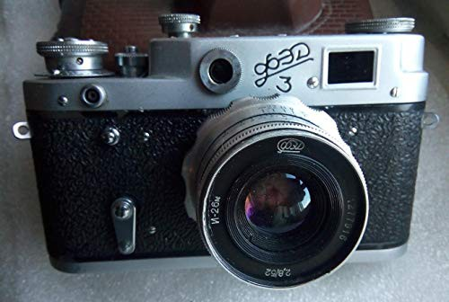 ボックス+パスポート+説明書 FED 3 film camera +...