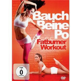 Bauch Beine Po-Fatburner Workout [DVD] [Import...