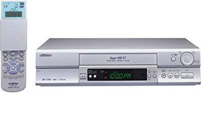 JVCケンウッド ビクター S-VHSビデオ HR-S700(中...