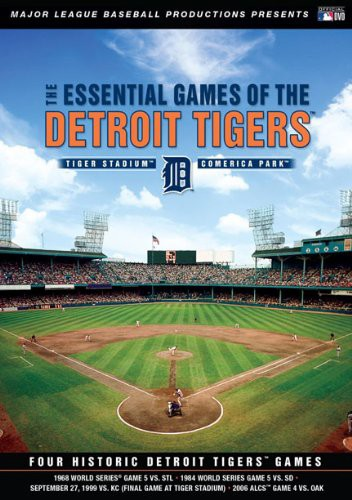 Essential Games of the Detroit Tigers [DVD] [I...