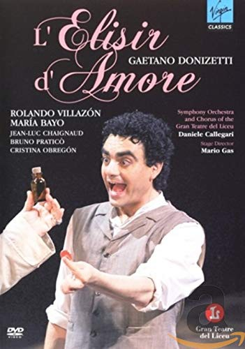 Donizetti: L'Elisir D'Amore [DVD] [Import](中...