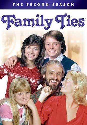 Family Ties: Complete Second Season [DVD](中古...