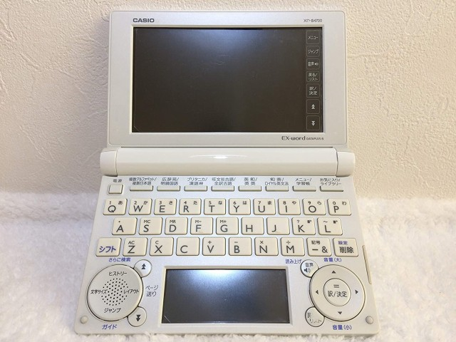 CASIO/カシオ 電子辞書  XD-B4700(人気モデル...
