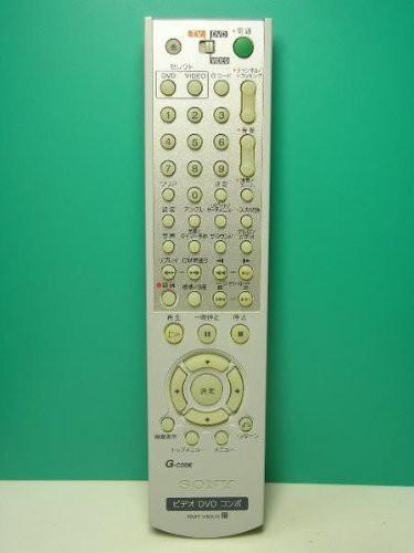 ソニー ビデオ・DVD・コンボリモコン RMT-V502E(...