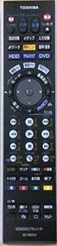 東芝 HDD・DVDビデオリモコン SE-R0212(中古品)