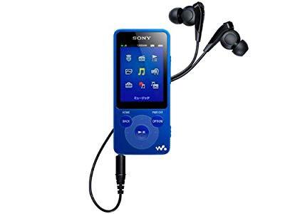 SONY ウォークマン Eシリーズ 4GB ブルー NW-E083...