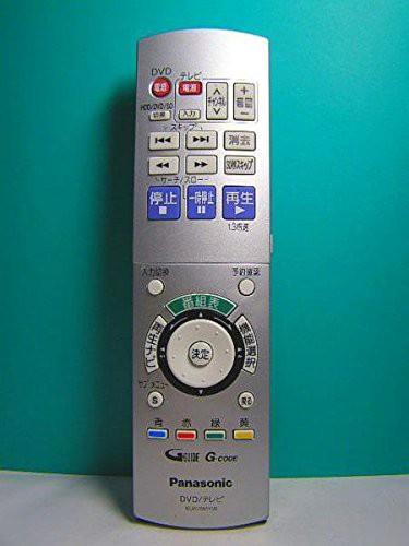 パナソニック DVDリモコン EUR7655Y20(中古品)