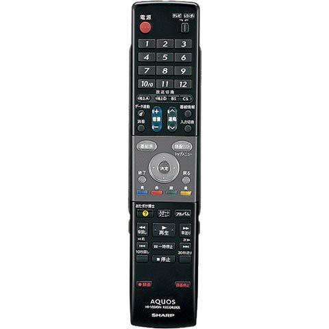 シャープ DVDレコーダー用純正リモコン 004638018...