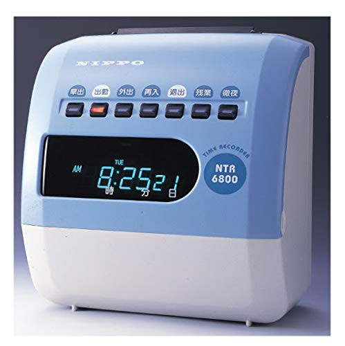 テクノ・セブン タイムレコーダー NTR-6800 NTR-6...