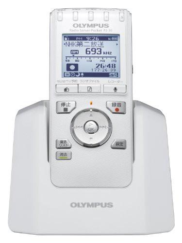 OLYMPUS ICレコーダー機能付ラジオ録音機 ラジオ...