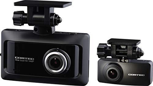コムテック 前後2カメラ ドライブレコーダー ZDR0...