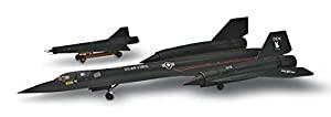 アメリカレベル 1/72 SR-71 ブラックバード プラ...