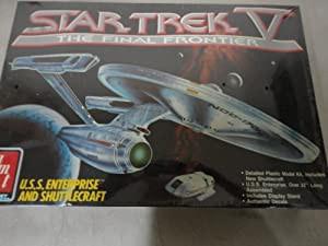 #6876 AMT Star Trek V the Final Frontier U.s.s...