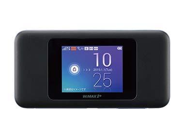 【au版】Speed Wi-Fi NEXT W06 HWD37SKA ブラック...