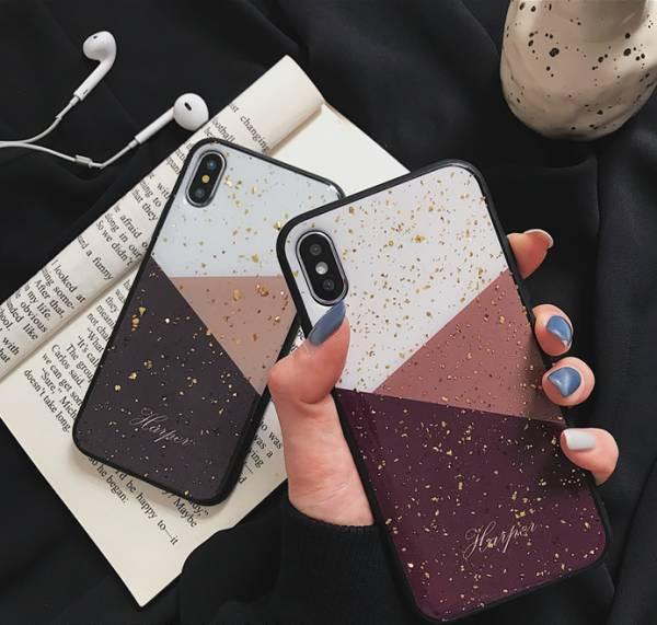 カップル キラキラ シリコン スマホケース iPhone...