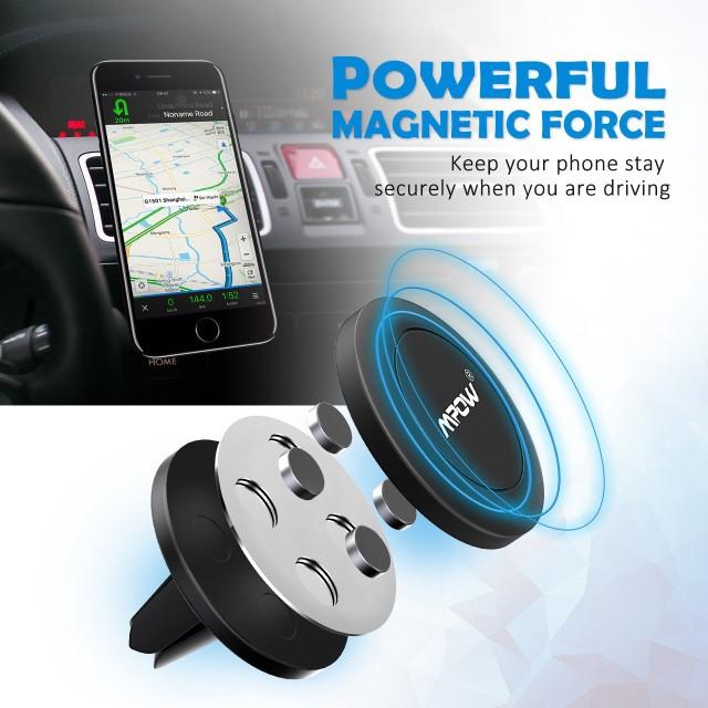 Mpow Strong Magnet Phone Mount Holder 強力マ...