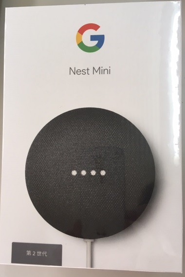 Google スマートスピーカー GOOGLE NEST MINI CHA...