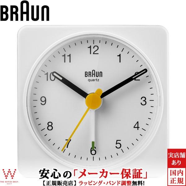 ブラウン BRAUN BC02W クロック ホワイト アラー...