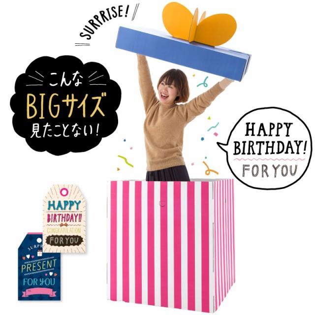 ≪送料無料≫人が入れるびっくり箱☆誕生日会や結...