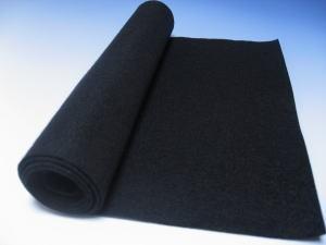 書初め用下敷き 黒1mm(29×110)