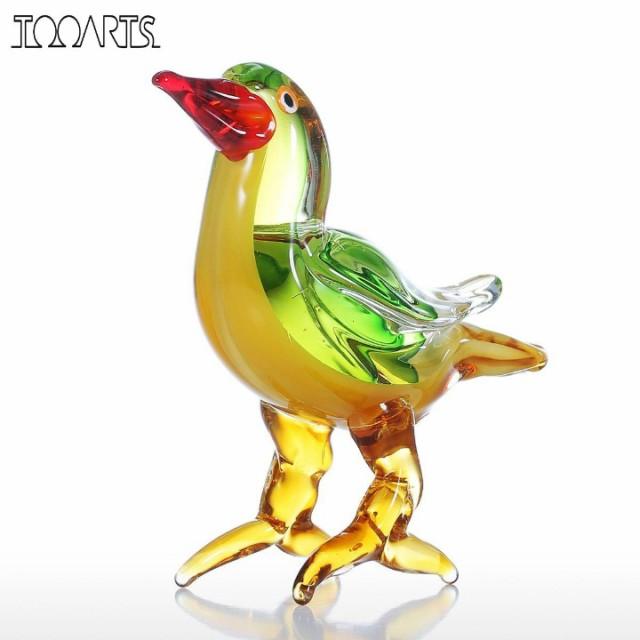 Tooarts 小鳥 ガラス製 オーナメント(T5516)