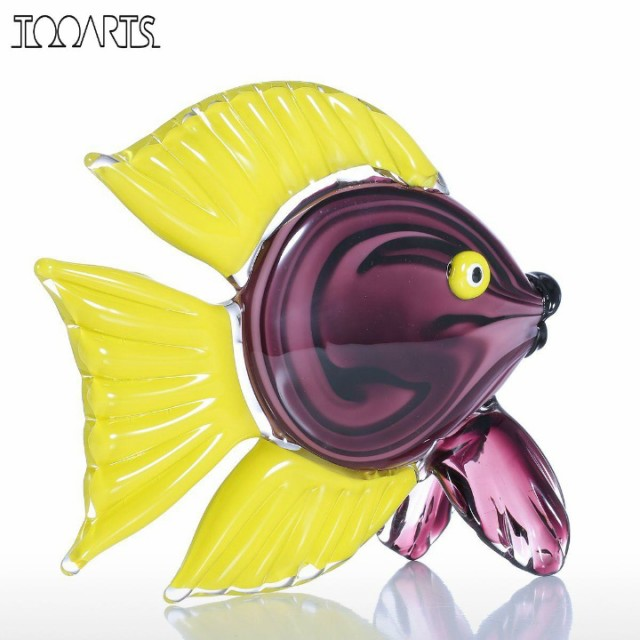 Tooarts 熱帯魚 ガラス製 オーナメント(T6166)...