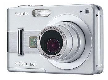 CASIO EXILIM ZOOM デジタルカメラ EX-Z57(中古品...