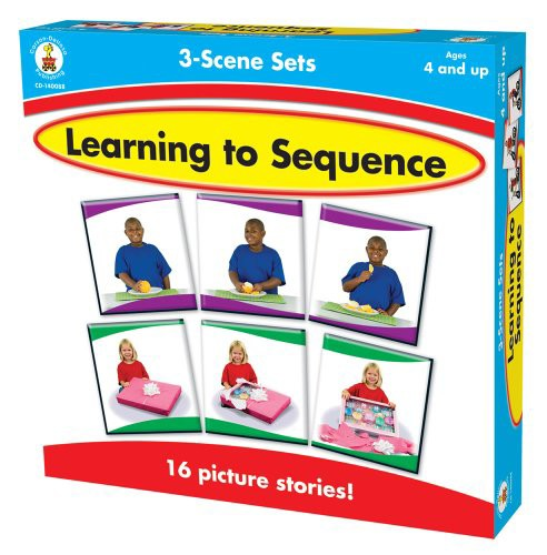 Learning to Sequence 3-Scene Set(中古品)