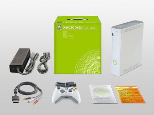 Xbox360 コアシステム本体【通常版】(中古品)