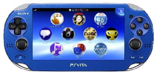 PlayStationVita 3G/Wi-Fiモデル サファイア・ブ...