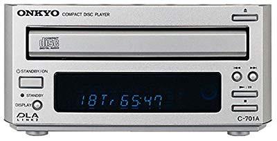 ONKYO INTEC155 CDプレーヤー シルバー C-701A(S)...