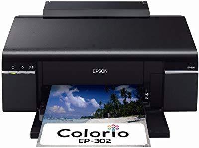 EPSON Colorio インクジェットプリンター EP-302 ...