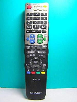 シャープ テレビリモコン GB031WJSA( 未使用の新...