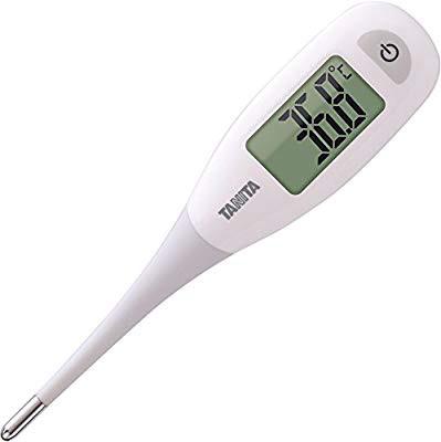 タニタ 電子体温計 BT-471-WH ホワイト 乳幼児や...
