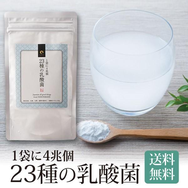 乳酸菌 サプリメント 粉末 23種の乳酸菌 送料無料...